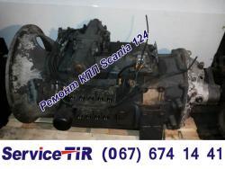 ремонт кпп scania 124