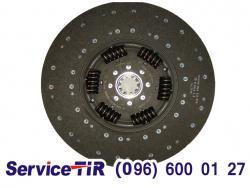 1878054933 диск щеплення даф хф95