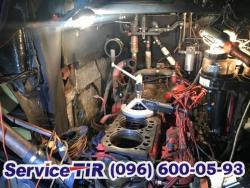 ремонт блока двигуна ман