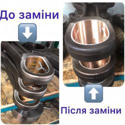 заміна втулки шатуна даф, рено преміум, магнум, сканія